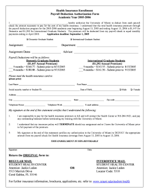 one time payroll deduction authorization form Templates - Fillable ...