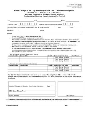teacher certification hunter college