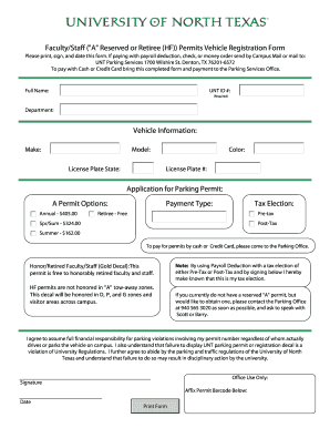 Group Discount Form 2009