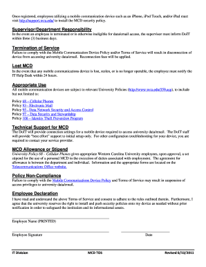 byod mobile device policy template