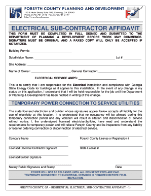 Printable subcontractor agreement template free - Edit, Fill Out