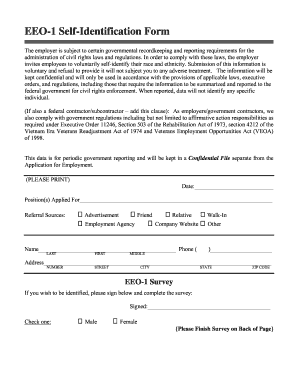 Eeo1 Form Editiable Fill Online Printable Fillable