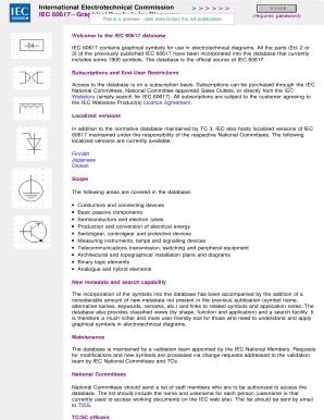 Fillable Online Webstore Iec Iec 60617 Graphical Symbols For