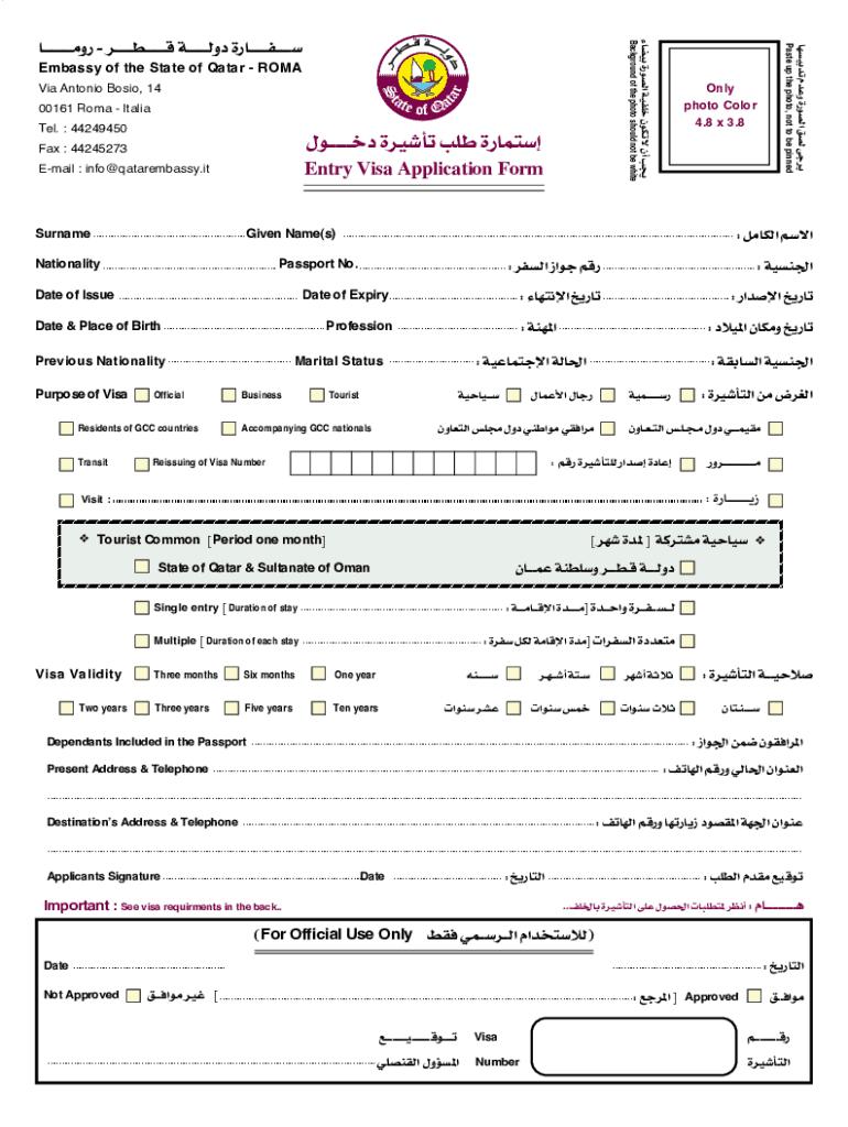 large Online Application Form For Zil Visa on