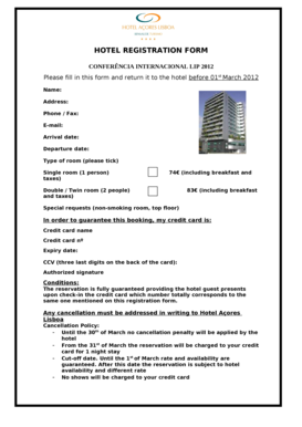 Fillable online lip hotel registration form lip lip fax email rate this form altavistaventures Choice Image