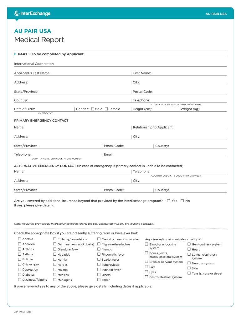 Us Medical Report - Fill Online, Printable, Fillable, Blank Regarding Medical Report Template Doc