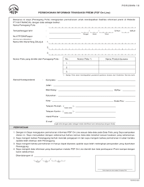 Filling A Form From Bank Mandiri Fill Online Printable Fillable Blank Pdffiller