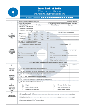 Sbi Online Account Opening Form 2014 Pdf