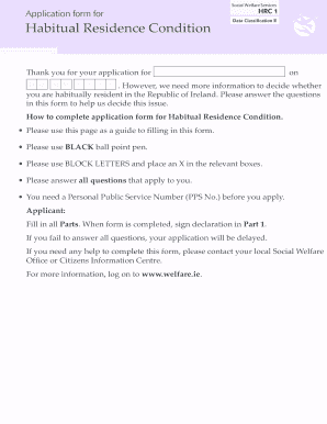 Child Benefit Form Hrc1 Fill Online
