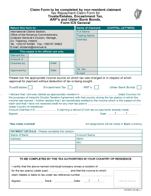 Ic 9 Form - Fill Online, Printable, Fillable, Blank | PDFfiller