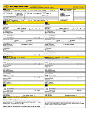 personal credit application form Templates - Fillable & Printable ...