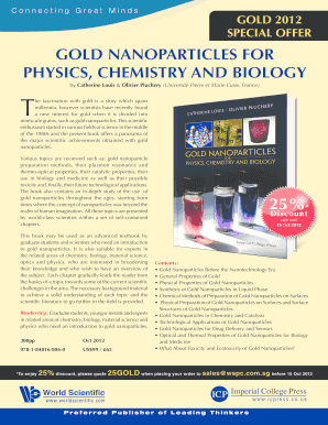 Gold Nanoparticles For Physics Chemistry And Biology Pdf