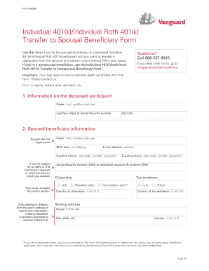 Oppenheimer single k transfer form