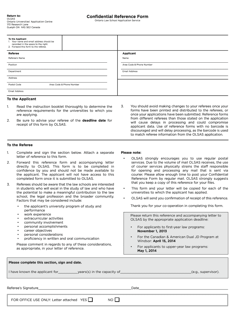 Referee Form - Fill Online, Printable, Fillable, Blank