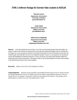 Evim Package Matlab - Fill Online, Printable, Fillable