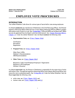 Editable employee declaration letter sample samples to submit online employee vote procedures alberta labour relations board thecheapjerseys Images
