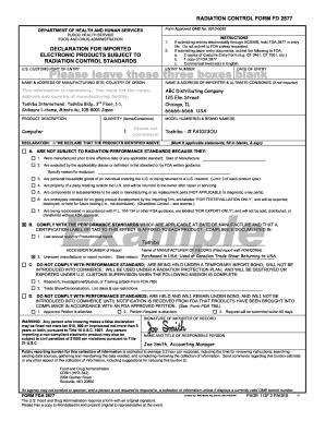 Fd2877 - Fill Online, Printable, Fillable, Blank | PDFfiller