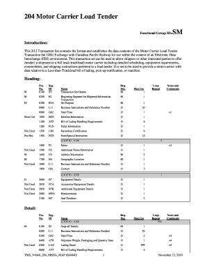 Tender Form - Fill Online, Printable, Fillable, Blank