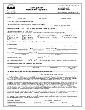 Gpeb Registration
