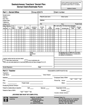 ada dental claim form pdf