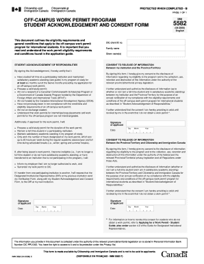 citizenship and immigration form imm 5582