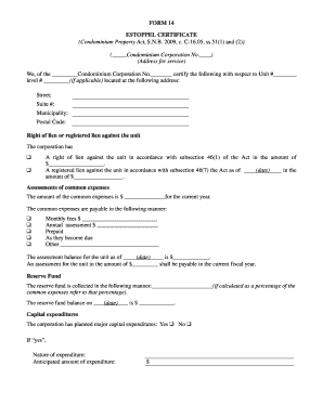 Stock certificate template forms fillable printable for Estoppel certificate template