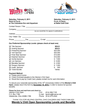 Wyoming game and fish falconry application form fill for Fishing sponsorship application