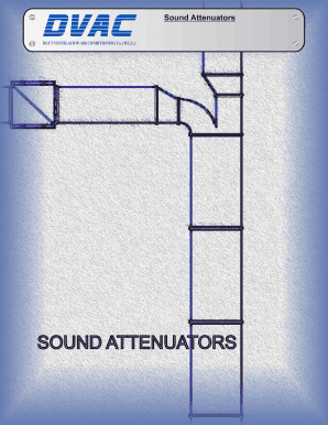 Fillable Online Sound Attenuators - DVAC - Duct Ventilation