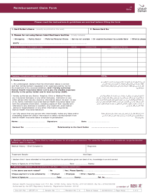 daman insurance claim form qatar