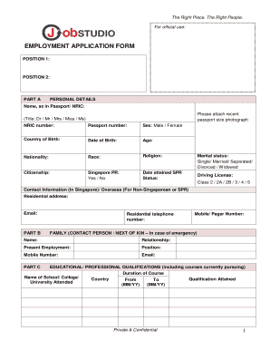 Permanent Application form.pdf - Job Studio