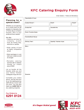 kfc canada application form pdf