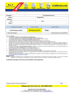 Jobstreet online fill online printable fillable blank pdffiller jobstreet online stopboris Image collections