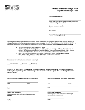 Fillable Online Legal Name Change Form Fax Email Print - PDFfiller