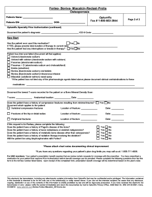 Smartd Rx Prior Authorization Form