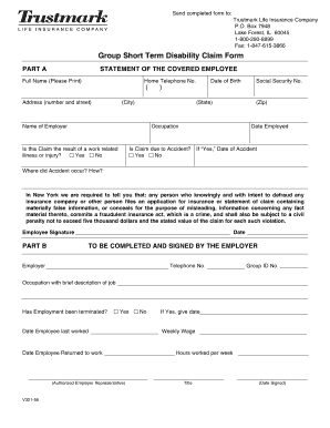 How To Fill Out Shory Trustmarc Term Disabilty Papers - Fill ...
