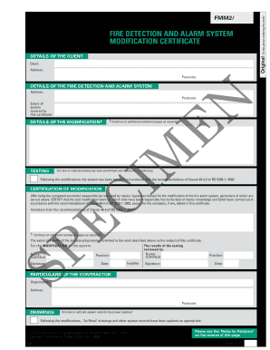 Niceic fire alarm certificate sample fill online printable niceic fire alarm certificate sample yelopaper Gallery