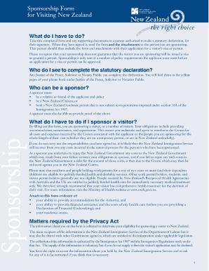 statutory declaration form immigration Templates - Fillable ...