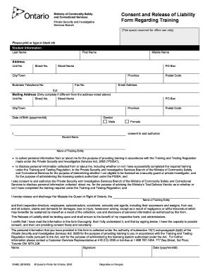 car accident release form pdf