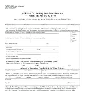 how to get affidavit online