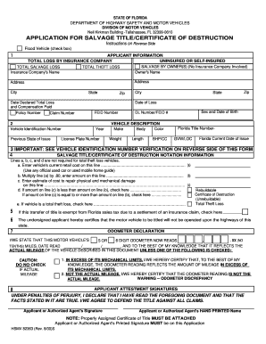 Certificate Of Destruction - Fill Online, Printable, Fillable ...