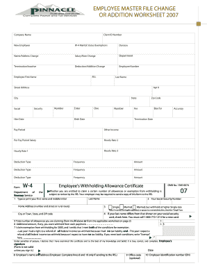 New Employee Form