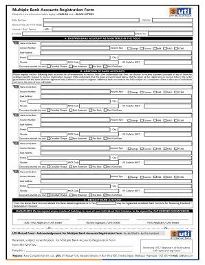 graphic relating to Banking Register Printable identified as Registration Variety Financial institution - Fill On-line, Printable, Fillable