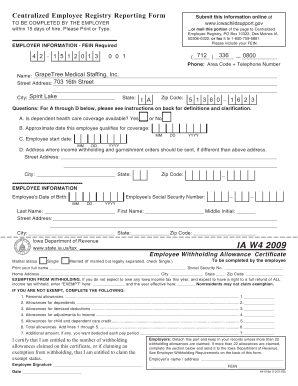Iowa W 4 2016 - Fill Online, Printable, Fillable, Blank | PDFfiller