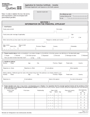 14964211 Quebec Birth Certificate Application Form English on