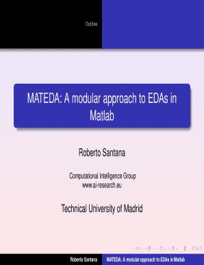 Roberto Santana Matlab - Fill Online, Printable, Fillable