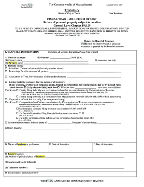 Fillable Online State Tax Form 2 The Commonwealth of Massachusetts ...