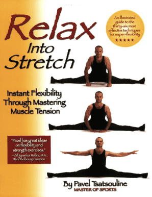 Relax Into Stretch Pdf Fill Online Printable Fillable
