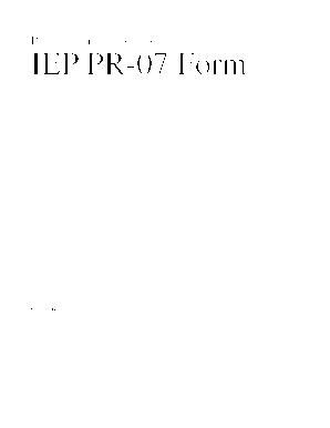 Ode Online Iep - Fill Online, Printable, Fillable, Blank | PDFfiller