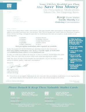 Cigna Mail Order Fax Form - Fill Online, Printable ...