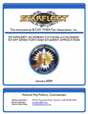 Starfleet Academy Diploma Custom With Your Name Star Trek Made in USA